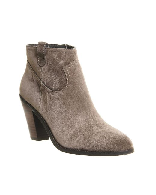 Ash | Brown Ivana Heeled Boots | Lyst
