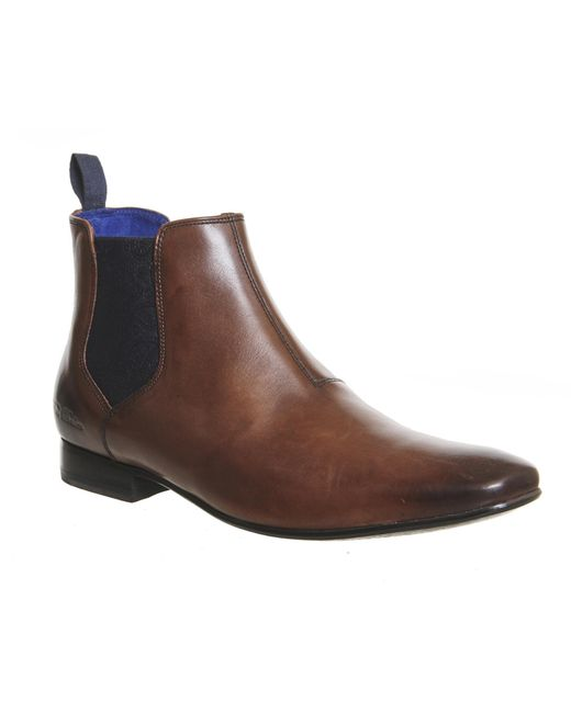 Ted Baker | Brown Hourb 2 Chelsea Boots for Men | Lyst