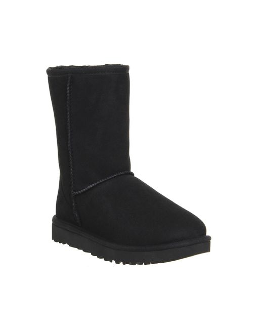 UGG | Black 'classic Short' Boot | Lyst