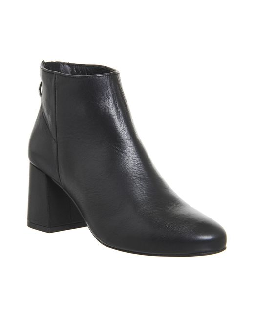Office | Black Africa Block Heel Boots | Lyst