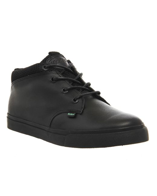 Kickers | Black Tovni Shoot Sneakers for Men | Lyst