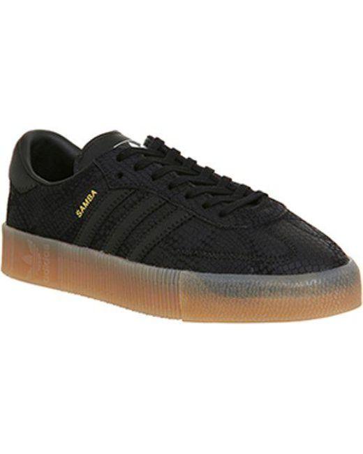 adidas sambarose noire
