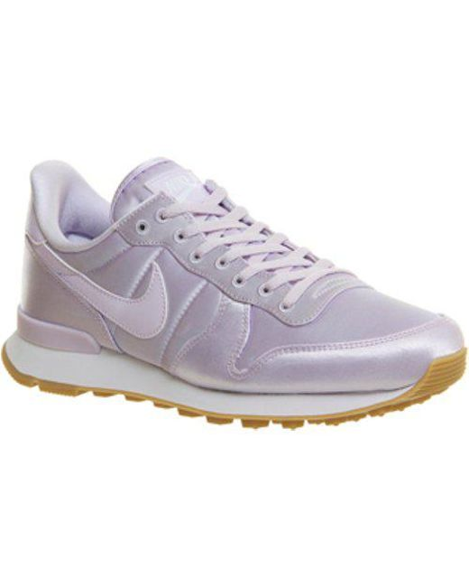 Nike | Purple Internationalist Qs | Lyst