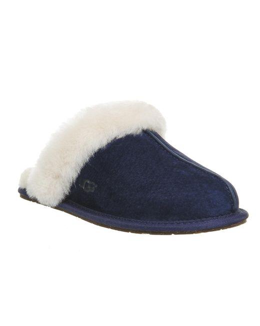 UGG | Blue Scuffette Ii Slippers | Lyst
