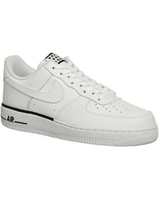 lyst nike air force 1 07 in bianco.