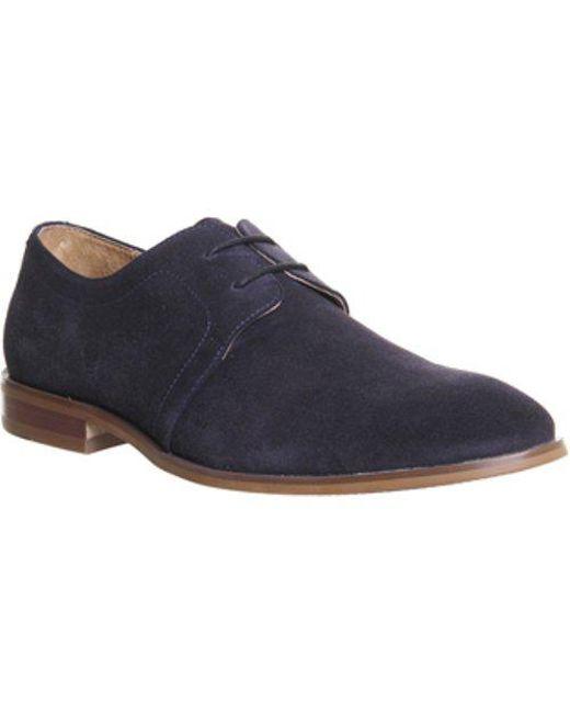 Office Blue Folk Derby Shoes For Men Lyst
