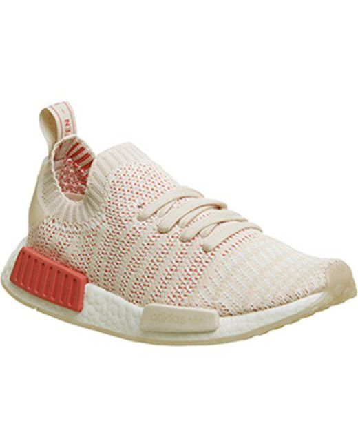 fd0a6c9de adidas Nmd R1 Prime Knit in Natural - Save 6% - Lyst