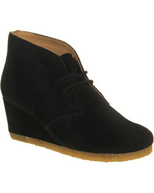 Clarks - Black Yarra Desert Boots - Lyst
