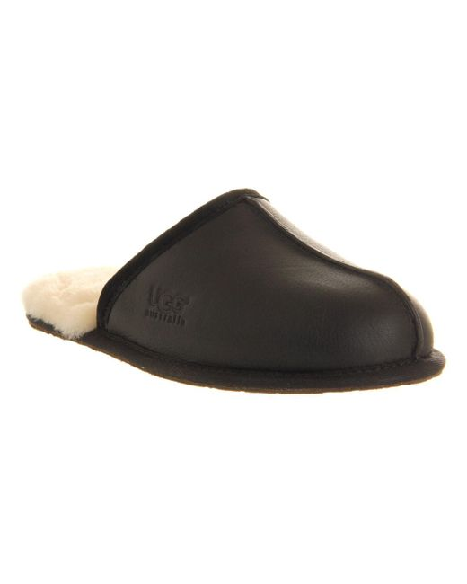 Ugg | Multicolor Scuff Leather Slippers for Men | Lyst