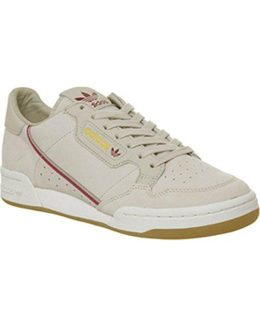 53b450abe627 Lyst - adidas Continental 80 S in Brown for Men