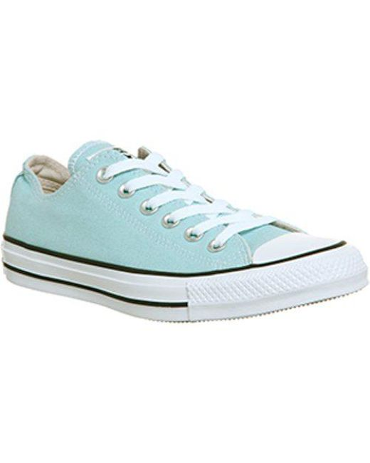 Converse - Blue All Star Low - Lyst