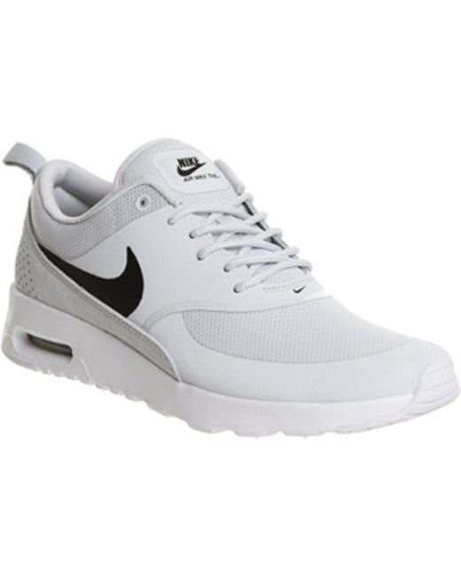 ea63282805 Nike Air Max Thea in Gray - Lyst