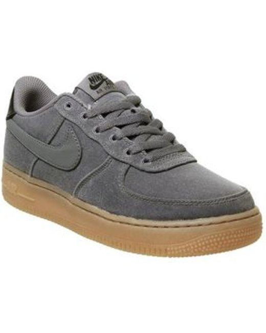 b5a1e79299b56 Lyst - Nike Air Force 1 Lv8 Gs in Gray