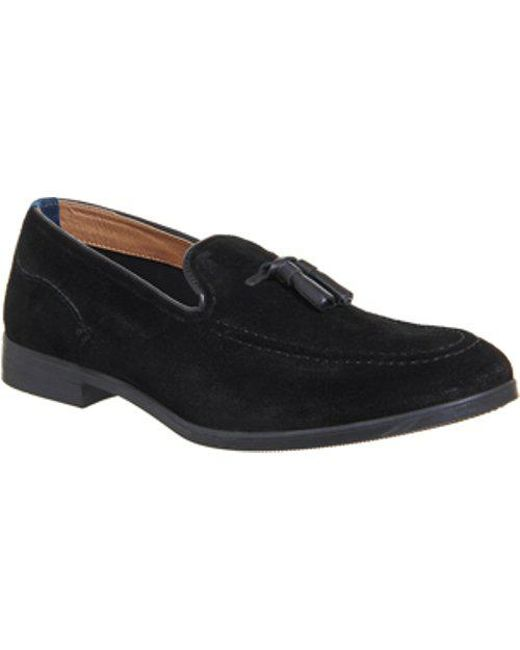 H by Hudson - Black Alysham Tassle Loafer for Men - Lyst