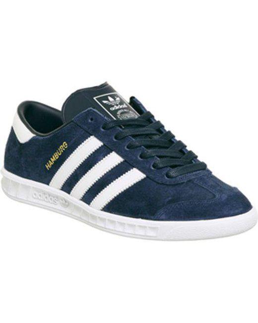 Adidas - Blue Hamburg for Men - Lyst