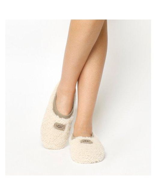 Ugg - Natural Birche Slippers - Lyst