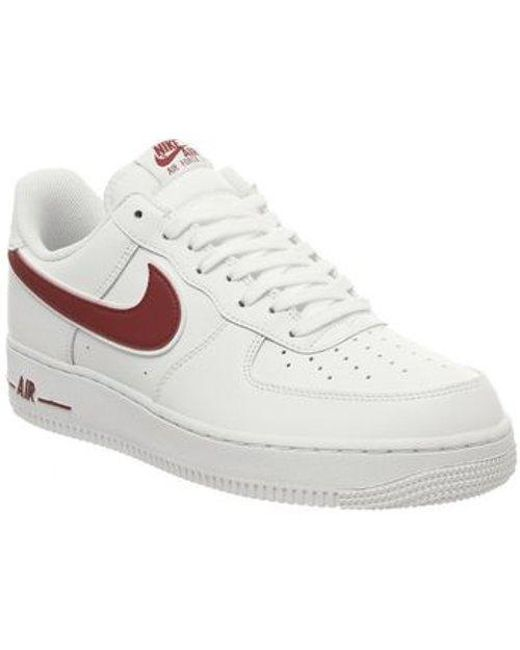 wholesale dealer 1ab11 f3cfa Nike - White Air Force One (m) for Men - Lyst