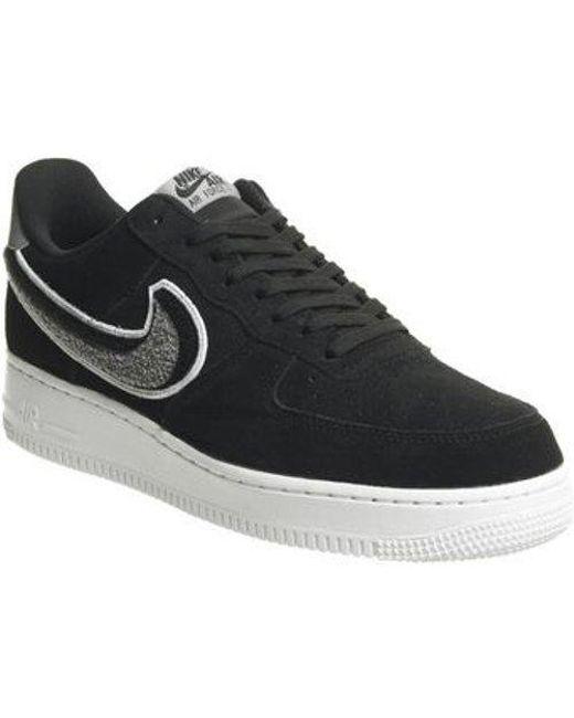 detailed look c5aae 82e01 Nike - Black Air Force 1 07 for Men - Lyst