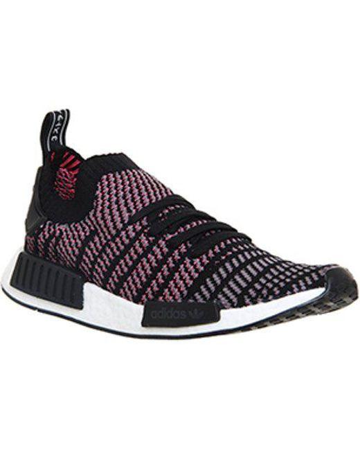 cfc2bdad3 Lyst - Adidas Nmd R1 Prime Knit in Black
