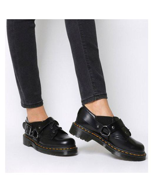 e38718b4601ca Lyst Dr Martens Fulmar 3 Eye Shoe In Black