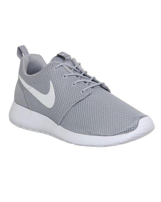 Nike   Gray Roshe Run for Men   Lyst