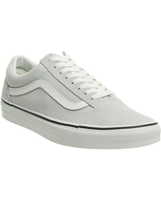 761ab63aee Lyst - Vans Old Skool in White for Men