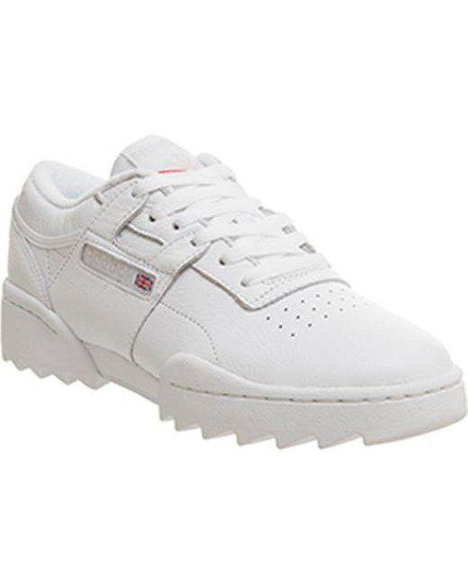 d0ba5a7665abb0 Reebok Workout Ripple T in White for Men - Lyst