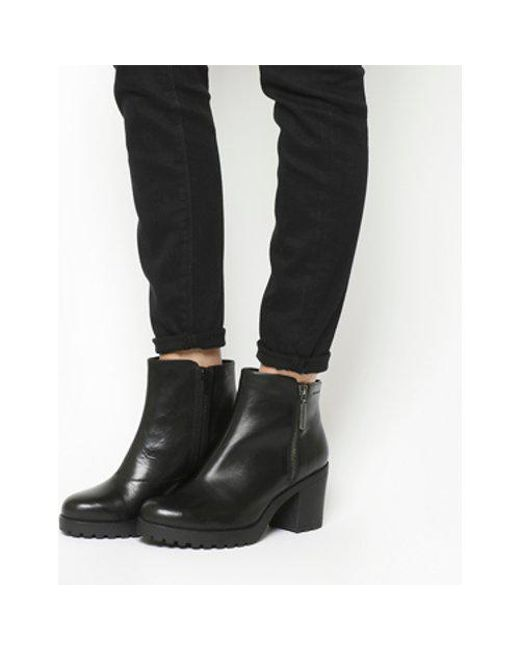 deb530250ff1 Vagabond Grace Side Zip Boots in Black - Lyst