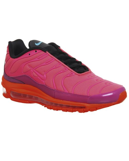 Nike - Pink Air Max 97 Plus Trainers - Lyst ... 73b5e0829