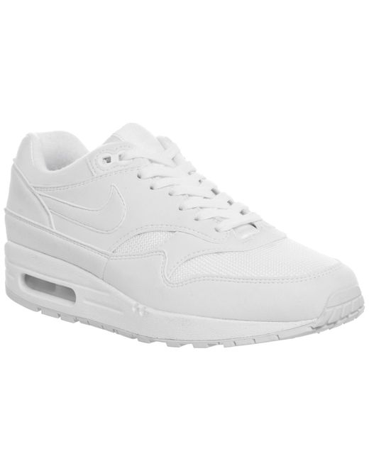Nike - White Air Max 1 Trainers - Lyst