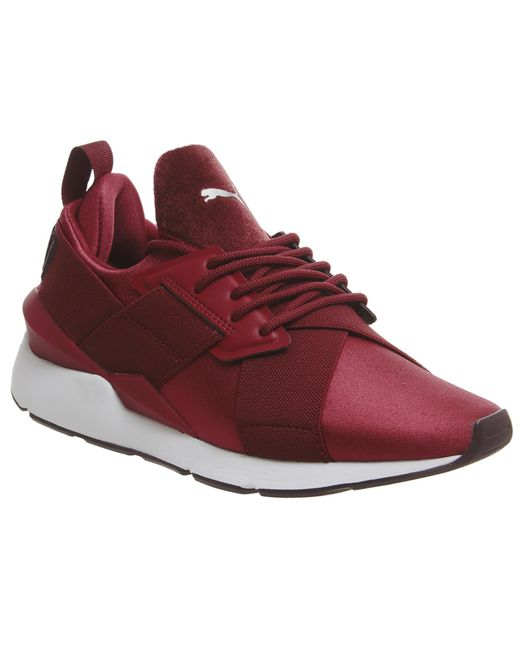 PUMA - Red Muse Xstrap Trainers - Lyst