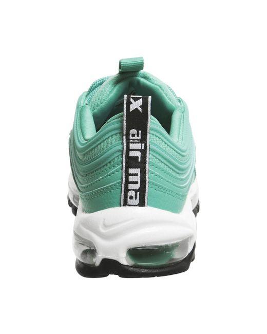 Nike Air Max 97 LX Overbranded Women hyper jadeblackwhite