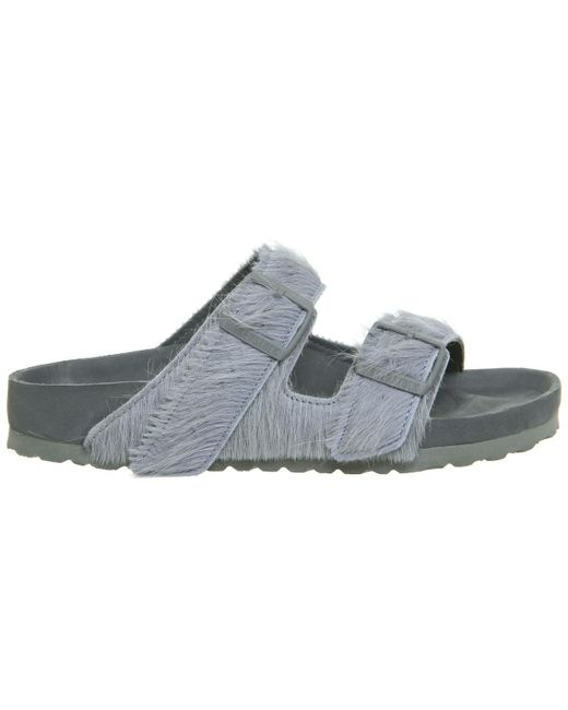50a3de3151d5 ... Rick Owens - Gray Ro Arizona Two Strap Sandals for Men - Lyst ...
