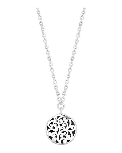 Lois Hill - Metallic Round Necklace - Lyst