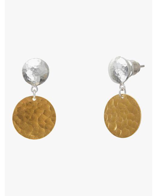 Gurhan - Metallic Lush Single Drop Earrings - Lyst