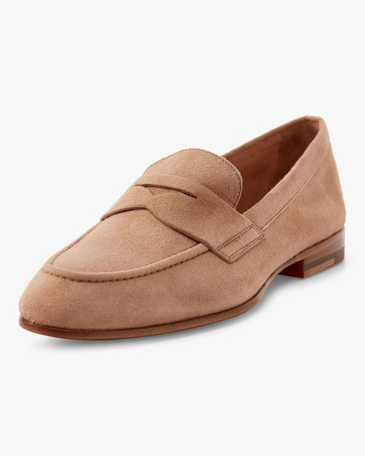 4cfd8f03a9e Lyst - Santoni Marlene Penny Loafer in Pink