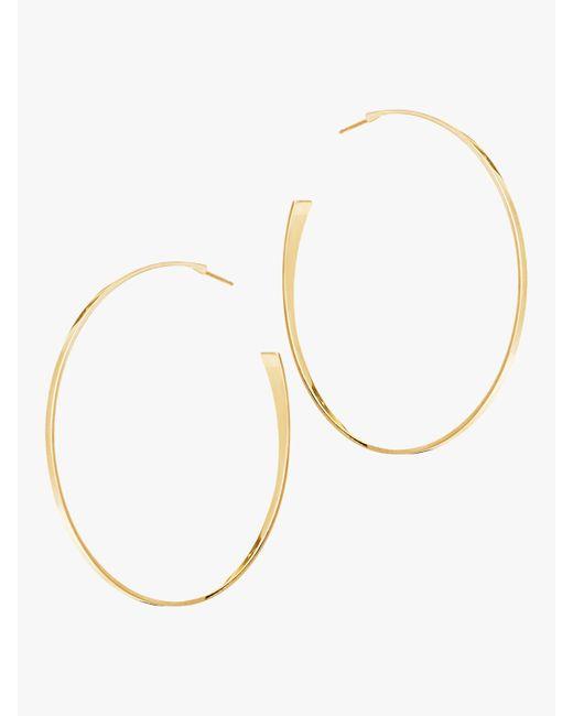 Lana Jewelry - Metallic Medium Curve Lana Hoops - Lyst