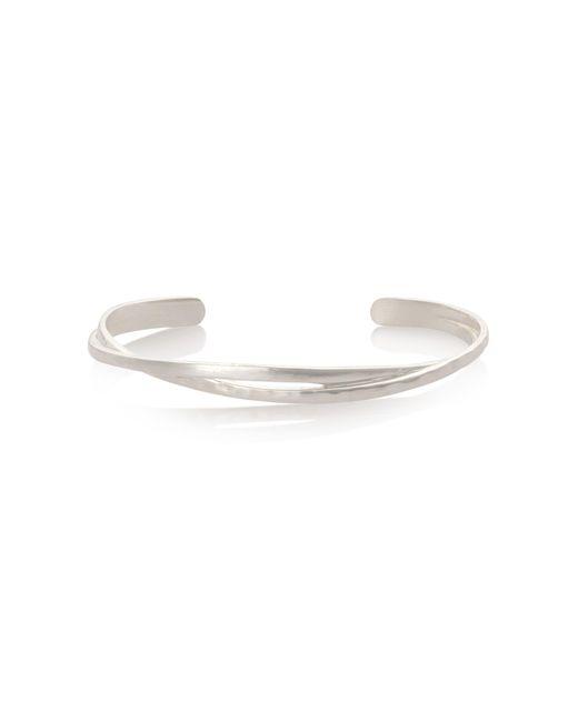 Oliver Bonas - Metallic Vinita Twisted Bracelet - Lyst