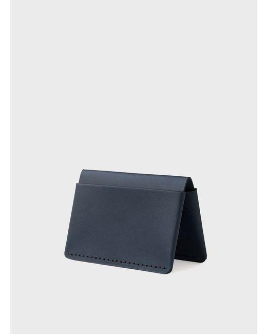 Makr   Blue Navy Horizon Four Wallet for Men   Lyst