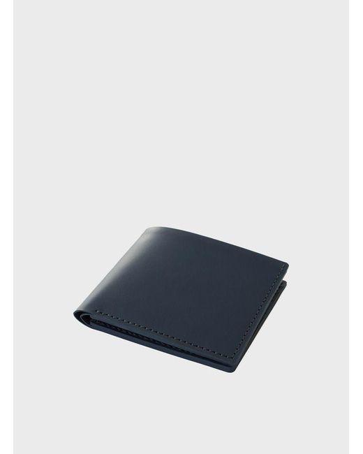 Makr | Blue Navy Open Billfold Wallet for Men | Lyst