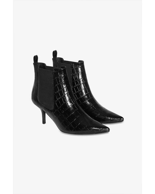 5a7a6a0ca44d95 ... Anine Bing - Black Stevie Boots - Lyst ...