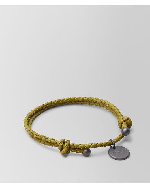 Bottega Veneta - Multicolor Chamomile Intrecciato Nappa Bracelet - Lyst