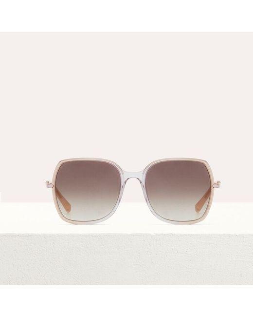 d1e3fb83a104 Maje Sunglasses in Pink - Save 8% - Lyst