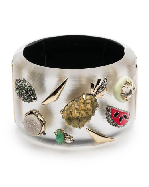 Alexis Bittar - Metallic Fruit Studded Hinge Bracelet - Lyst