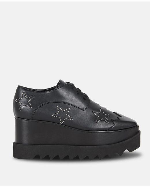 6ee3d0fc87a Stella McCartney - Black Studded Elyse Shoes - Lyst ...