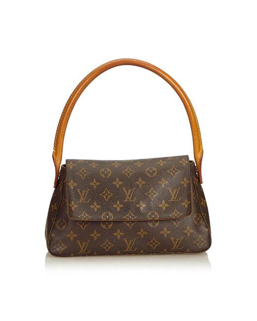 Louis Vuitton - Brown Monogram Looping Mini - Lyst