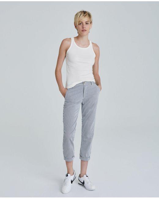 AG Jeans White The Caden - Ivory Dust