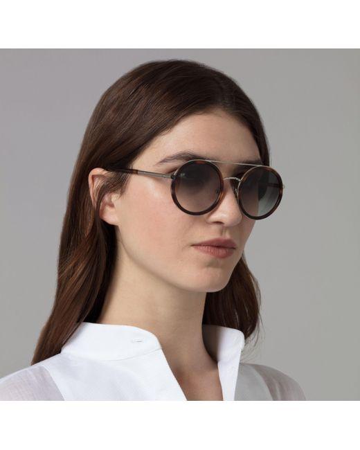 6442875be9 ... Amanda Wakeley - Multicolor The Portobello Tortoiseshell Sunglasses -  Lyst