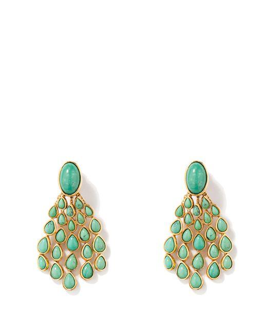 Aurelie Bidermann - Green Cherokee Drop Earrings - Lyst