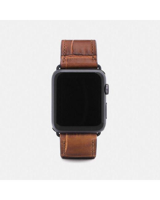 COACH - Multicolor Apple Watch® Strap - Lyst
